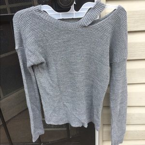 Waffle light weight sweater size small